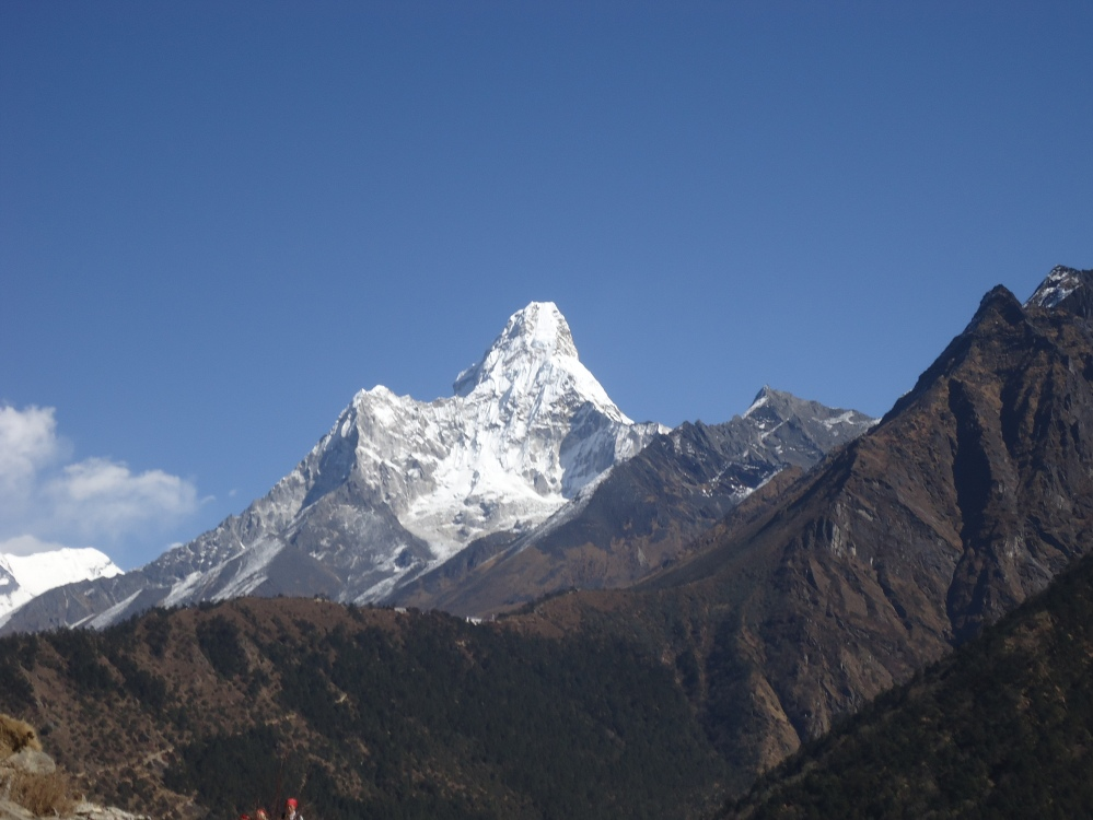 Ama Dablam from the Everest Base trek