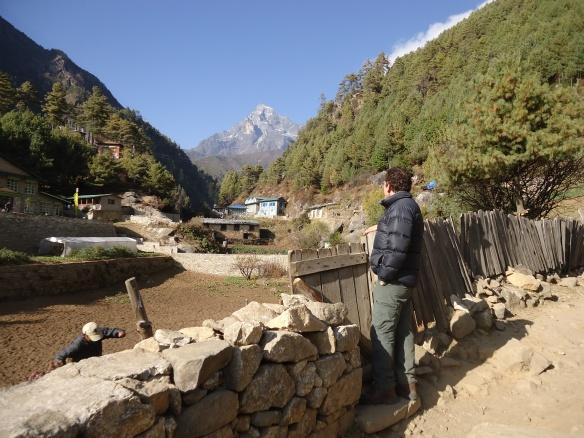View of Kumbila Peak Monjo