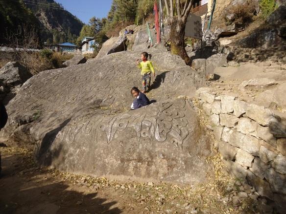 Prayer Stones in Nepal