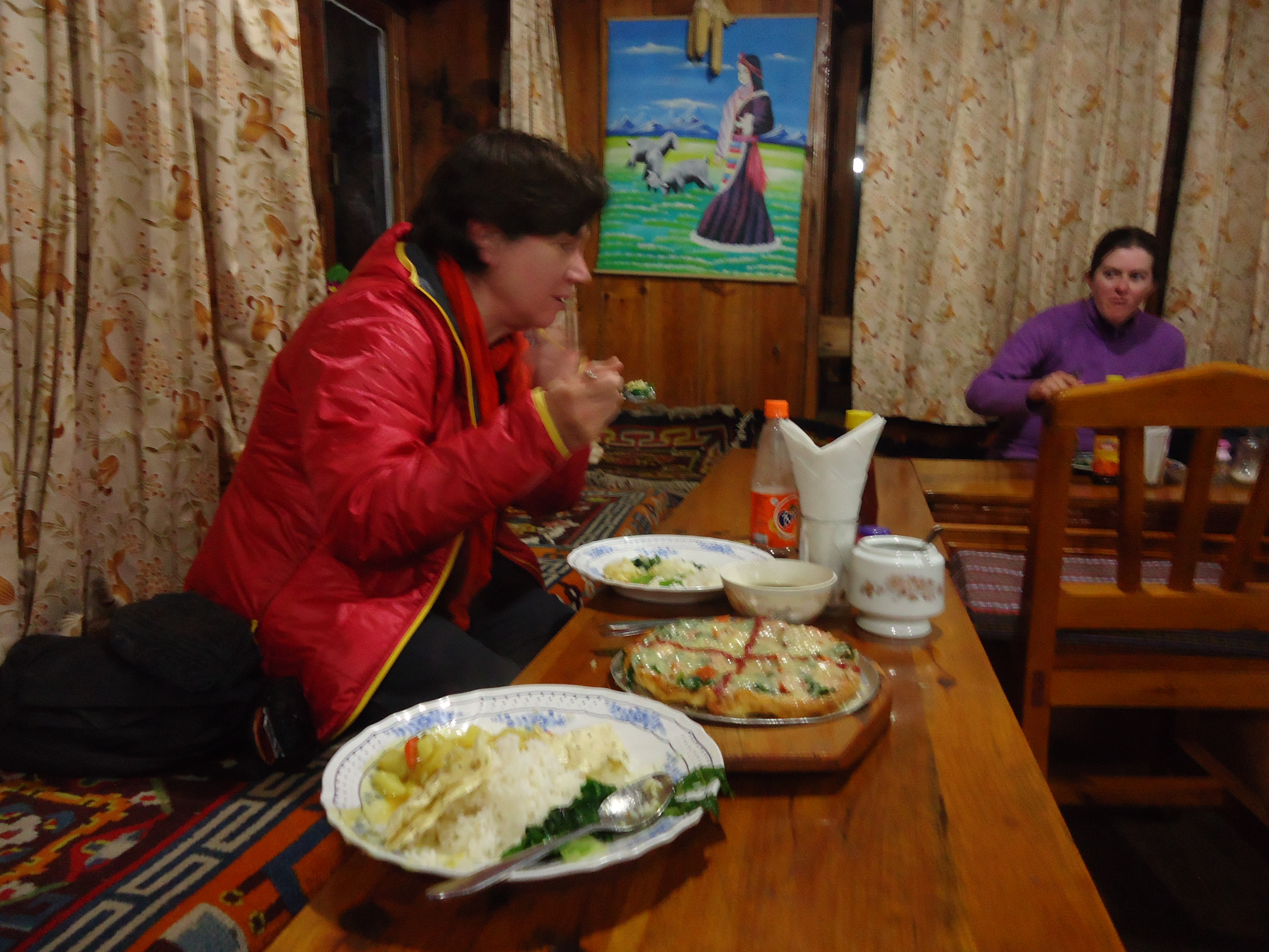 Meal for two at Monjo Guest House