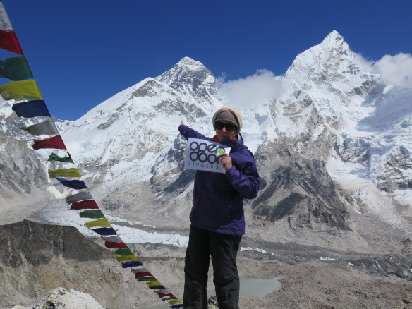 Standing on top of Kala Patthar