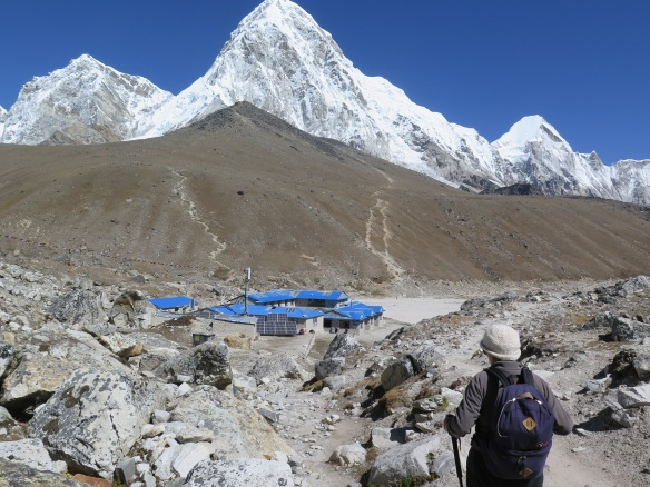 Gorak Shep the end of the Everest Base Camp trek