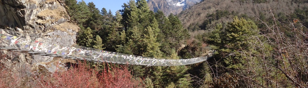 Suspension Bridge before Tengboche