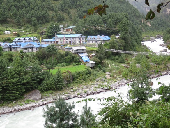 Suspension Bridge at Phakding