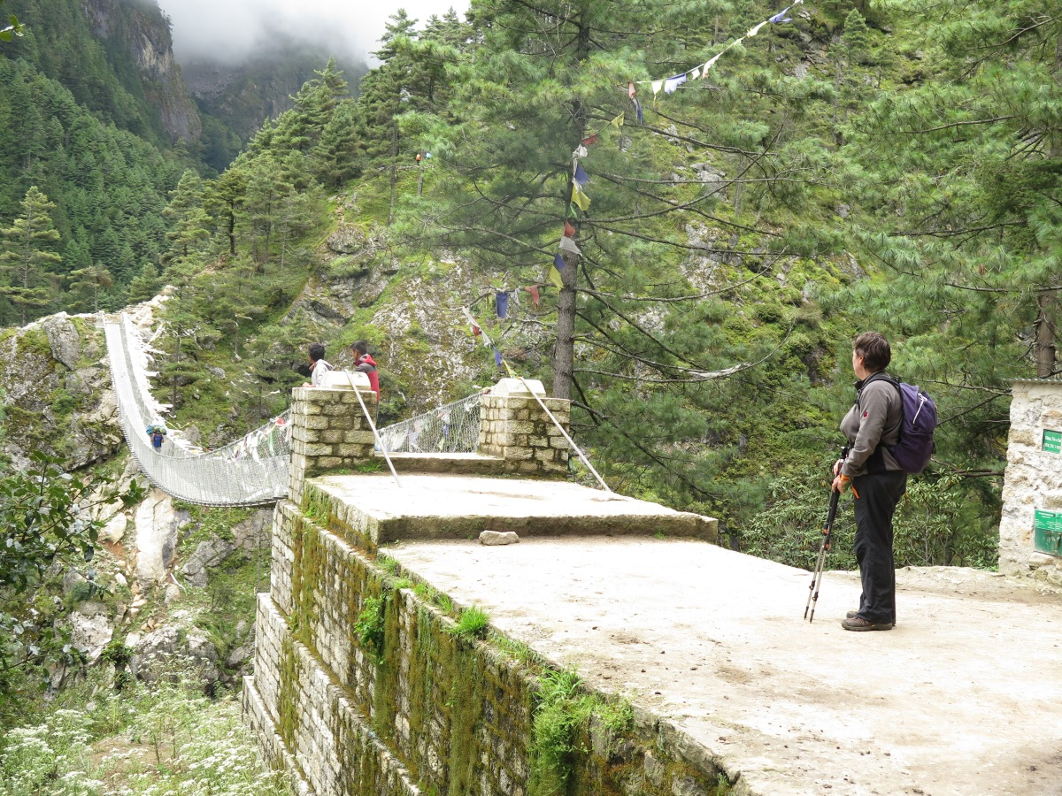Day 2 Phakding to Namche Bazaar 2015 Trek