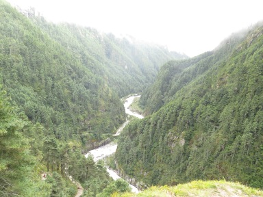 Dudh Kosi Main Trail Lukla to Everest Base Camp