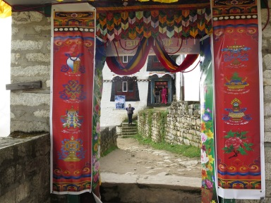 Monastery at Namche Bazaar
