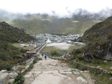 Khunjung and the Edmund hillary School