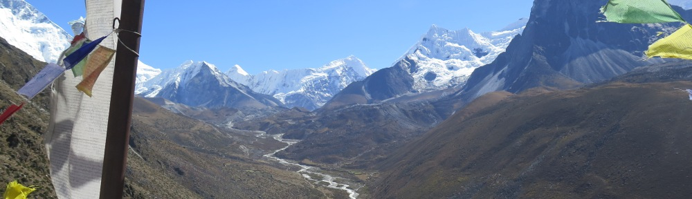 Spectacular View from Dingboche Ridgetop