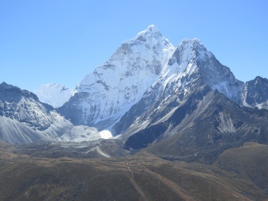 Ama Dablam from Dingboche, Nepal