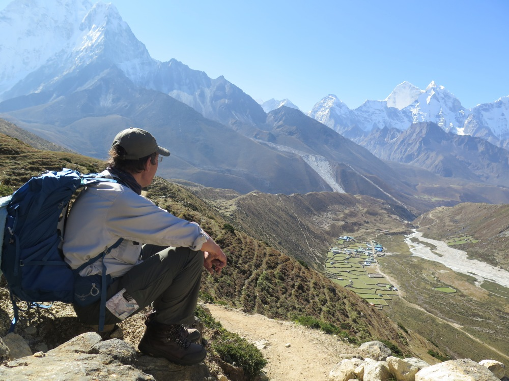 Above Periche Between Dingboche and Dughla