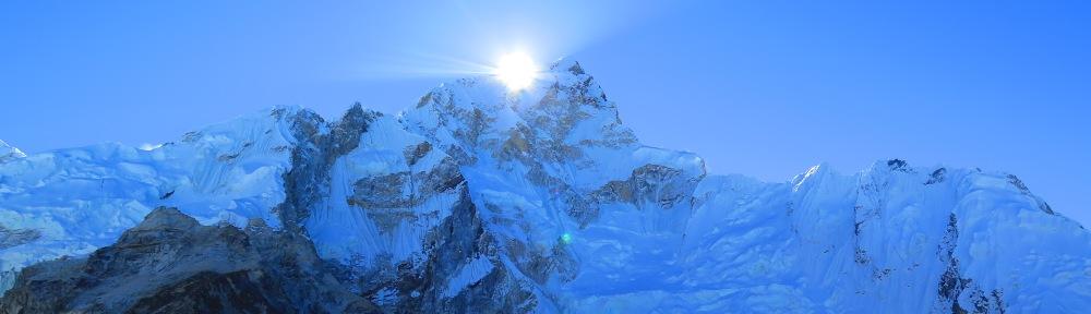Walking towards Everest Base Camp