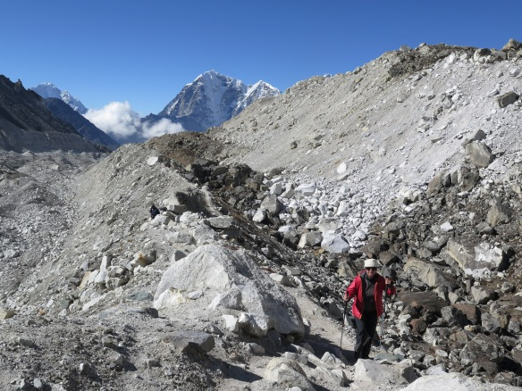 Almost at Everest Base Camp