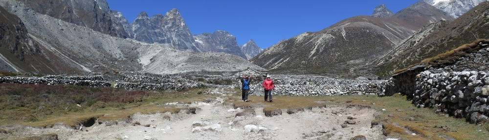 Near Pheriche Everest Base Camp Trek