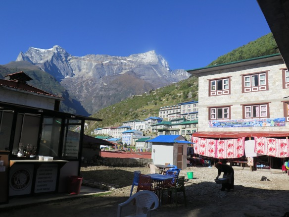 Namche Bazaar and the Kwangde Range