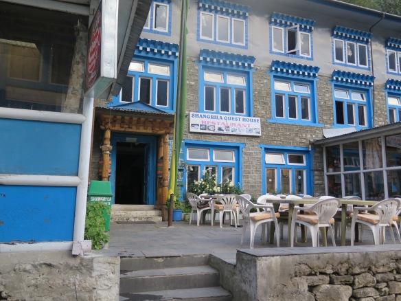 Lodge in Phakding EBC trail