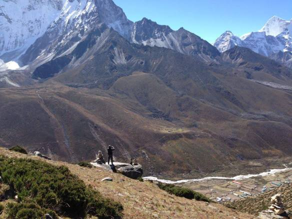 Acclimatisation Walk on Dingboche Ridgetop