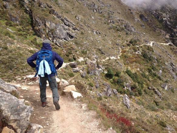 EBC Trek trail