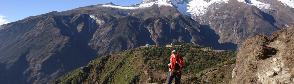Kongde Ri, Everest Base Camp Trek Blog