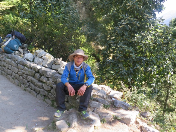 Our Porter on the Everest Base Camp Trek