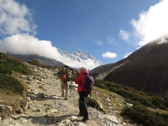 EBC Trek Heading Towards Dingboche