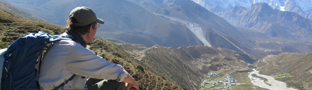 Above Pheriche, Everest Base Camp trek