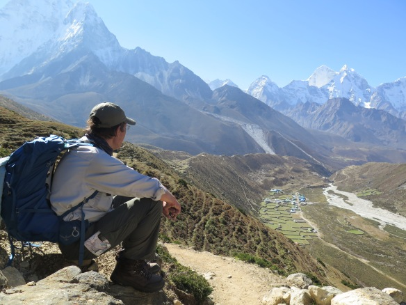 Above Pheriche, Everest Base Camp trek