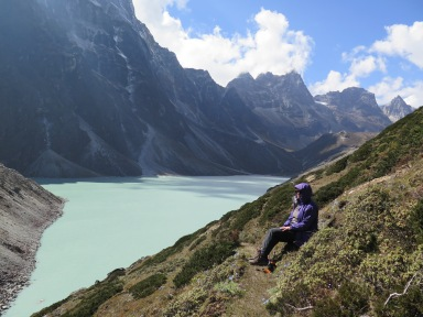 Dughla Glacier Lake near Thukla
