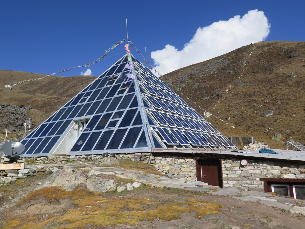 Everest Base Camp Trail Weather Pyramid
