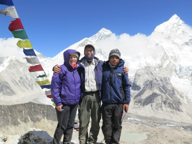 On top of Kala Patthar in October
