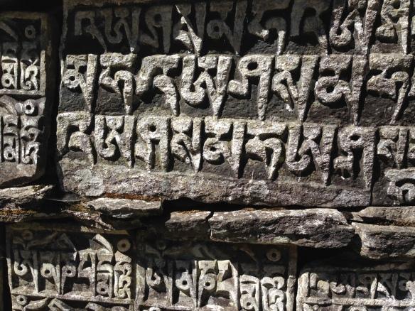Mani walls Everest Base Camp Trek Nepal