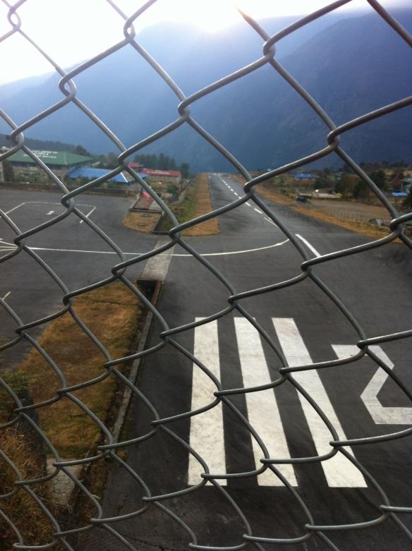 Lukla Airport landing strip