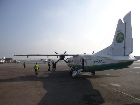 9N-AKE at Kathmandu Airpot