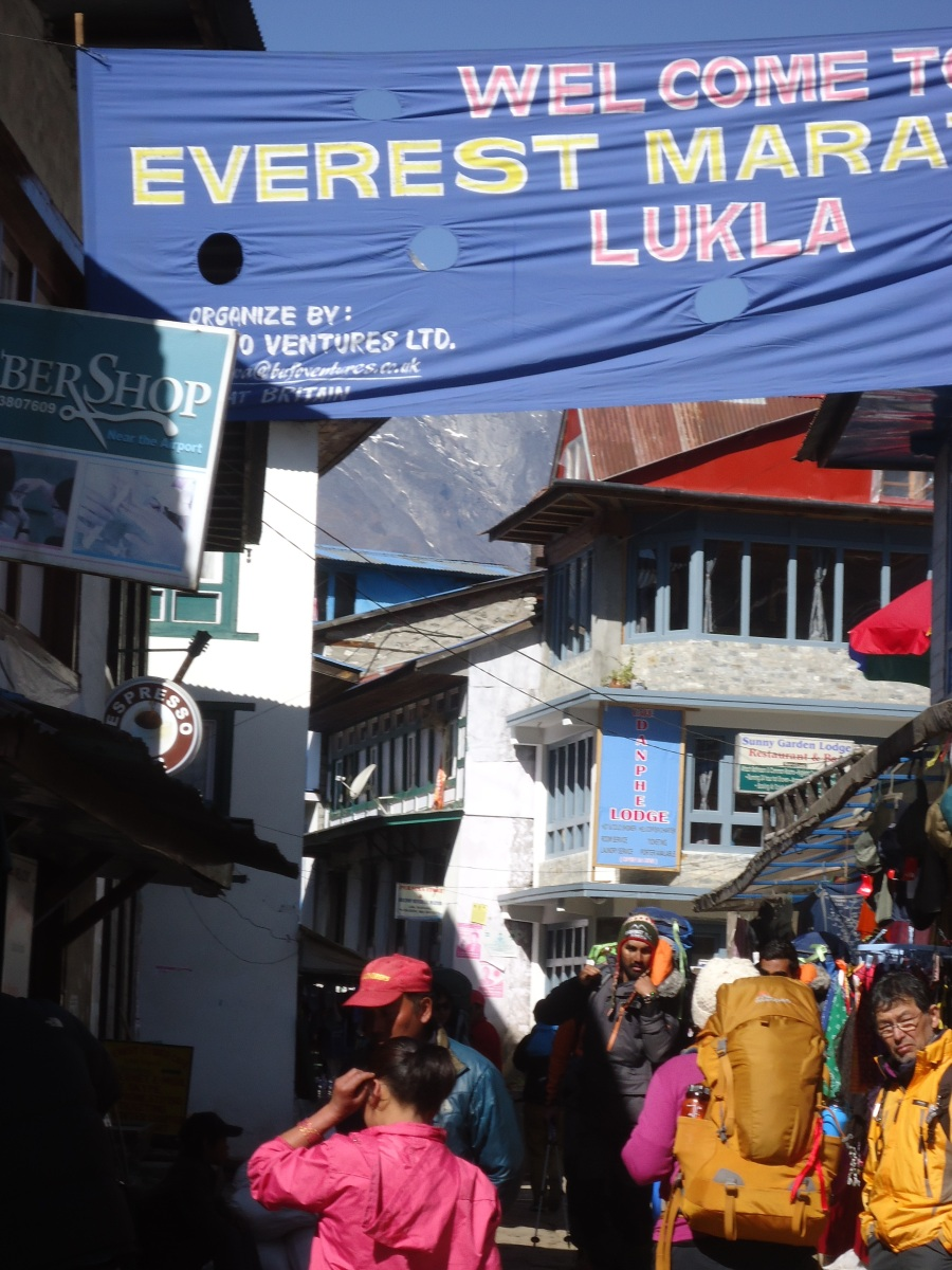 Heading Out for Everest Base Camp - Day One Lukla to Phakding