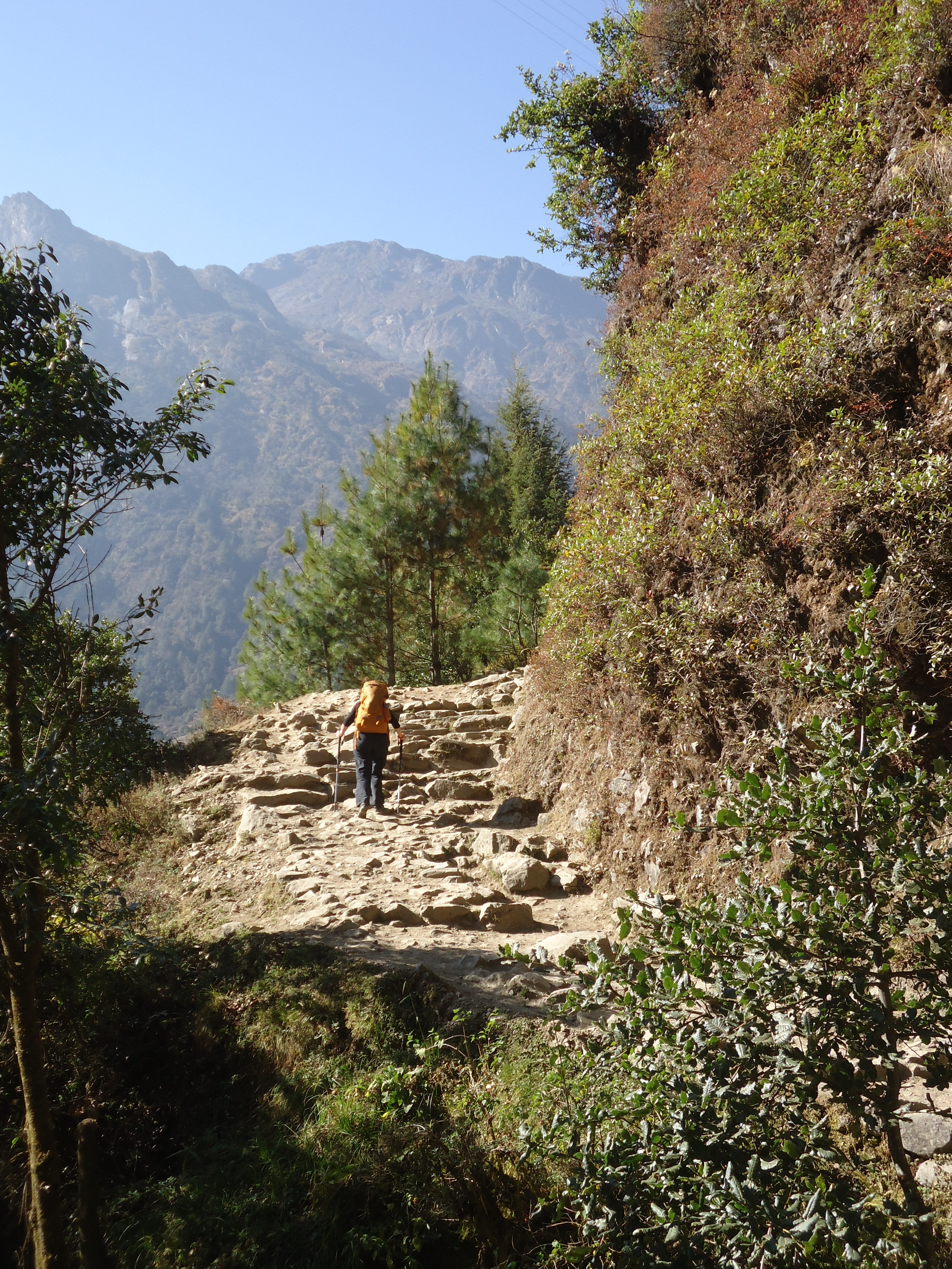 Between Lukla and Phakding