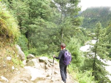 trekking Phakding to Monjo Everest Base Camp Trek September 2015