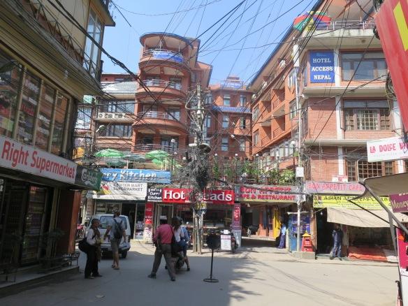 Thamel Street Kathmandu