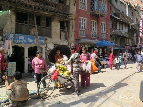 Banana Seller Kathmandu