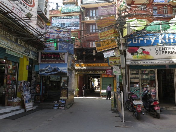 Kathmandu Shops and Signs