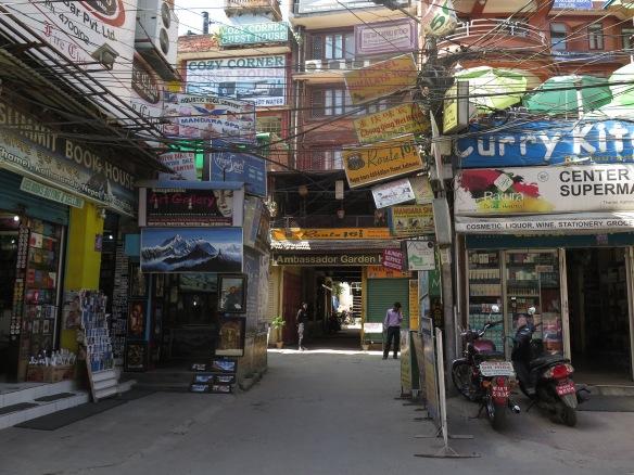 Kathmandu Shops and Signs