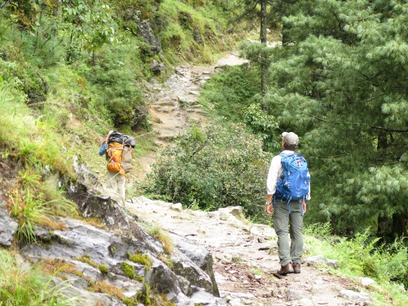 EBC Trek Between Phakding and Monjo