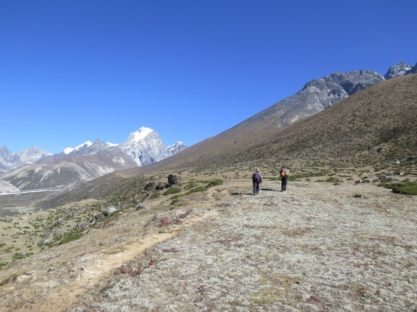 EBC Trek Dingboche to Dughla