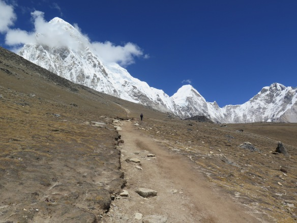 EBC Trek The climb up to Kala Patthar
