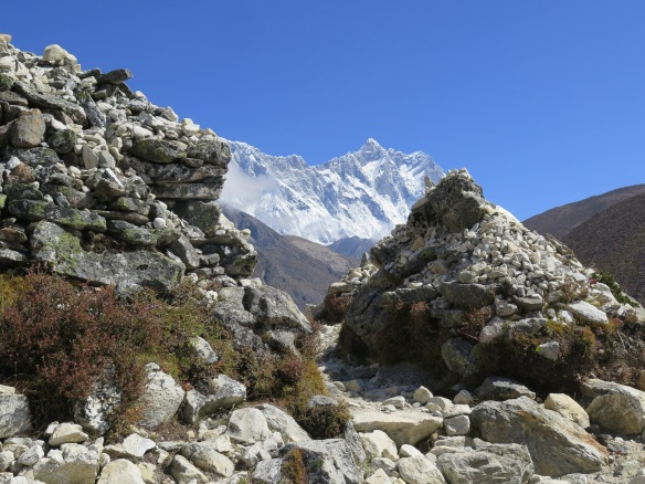 EBC Trek Walking to Dingboche