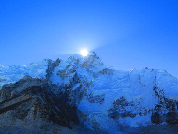 Everest Base Camp in the morning