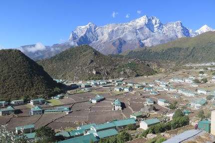 khumjung in the Everest Base Camp Region of Khumbu Nepal