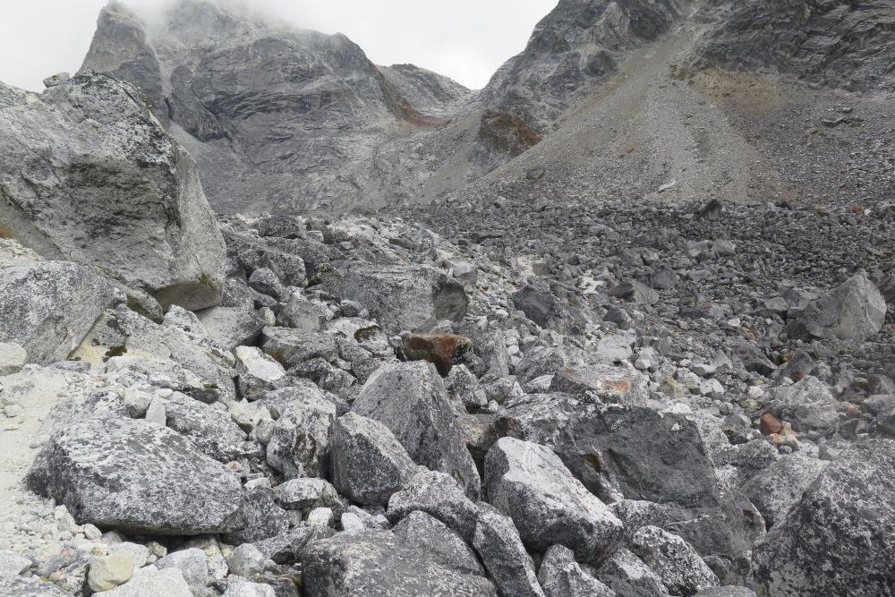 Cho La Pass Everest Bse Camp Region Nepal