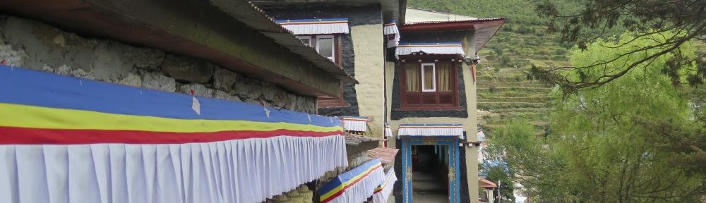 monastery namche bazaar nepal