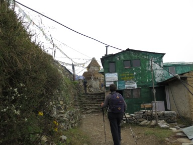 Trekking into Mongla September 2015